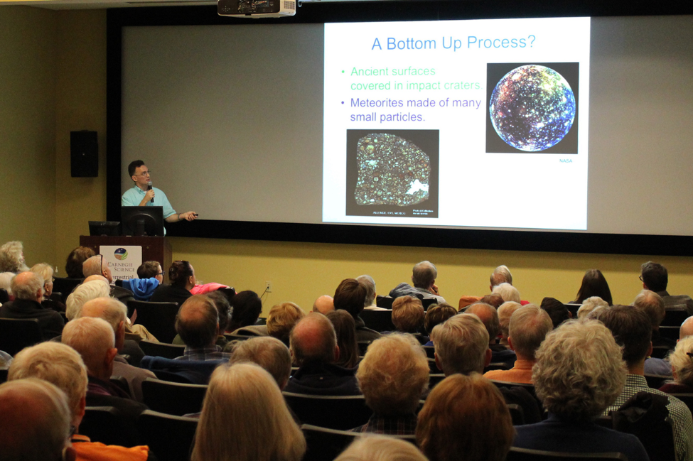 "2017 Neighborhood Lecture Series: John Chambers, ""The Mystery of Planet Formation.""."