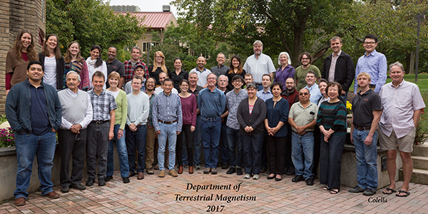 Department of Terrestrial Magnetism, October 2017. Credit: Michael Collela