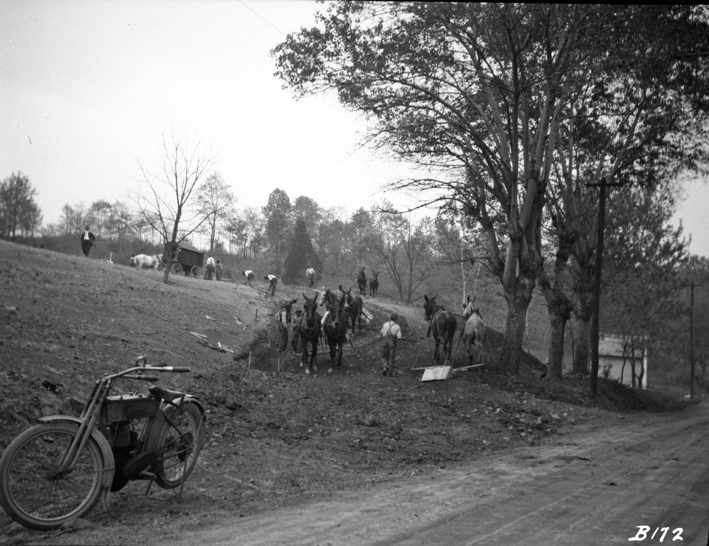 Clearing Land 1913