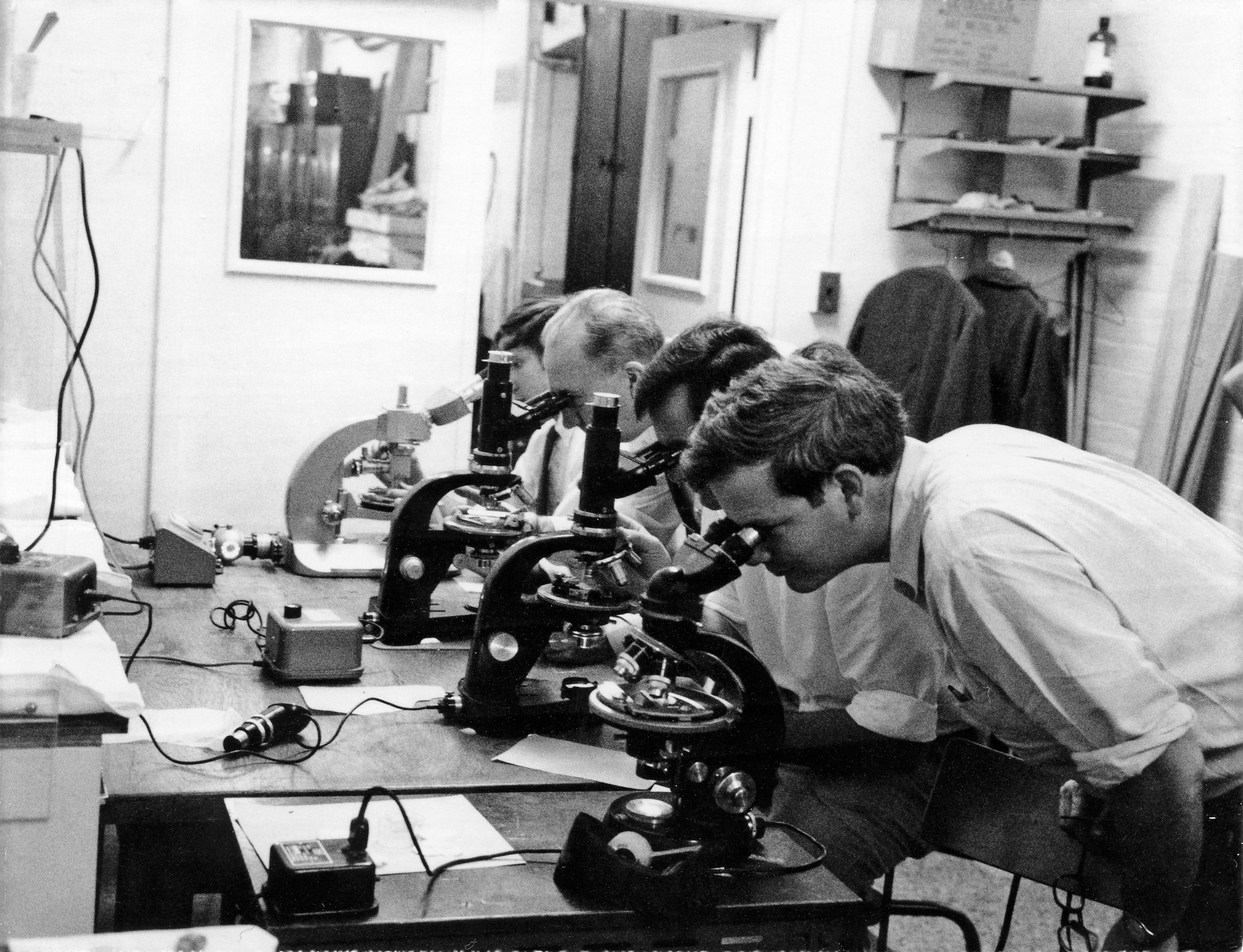 In 1969 a new, titanium-rich mineral was discovered in the first samples returned from the Moon by scientists at the Geophysical Laboratory (now Earth and Planets Lab).