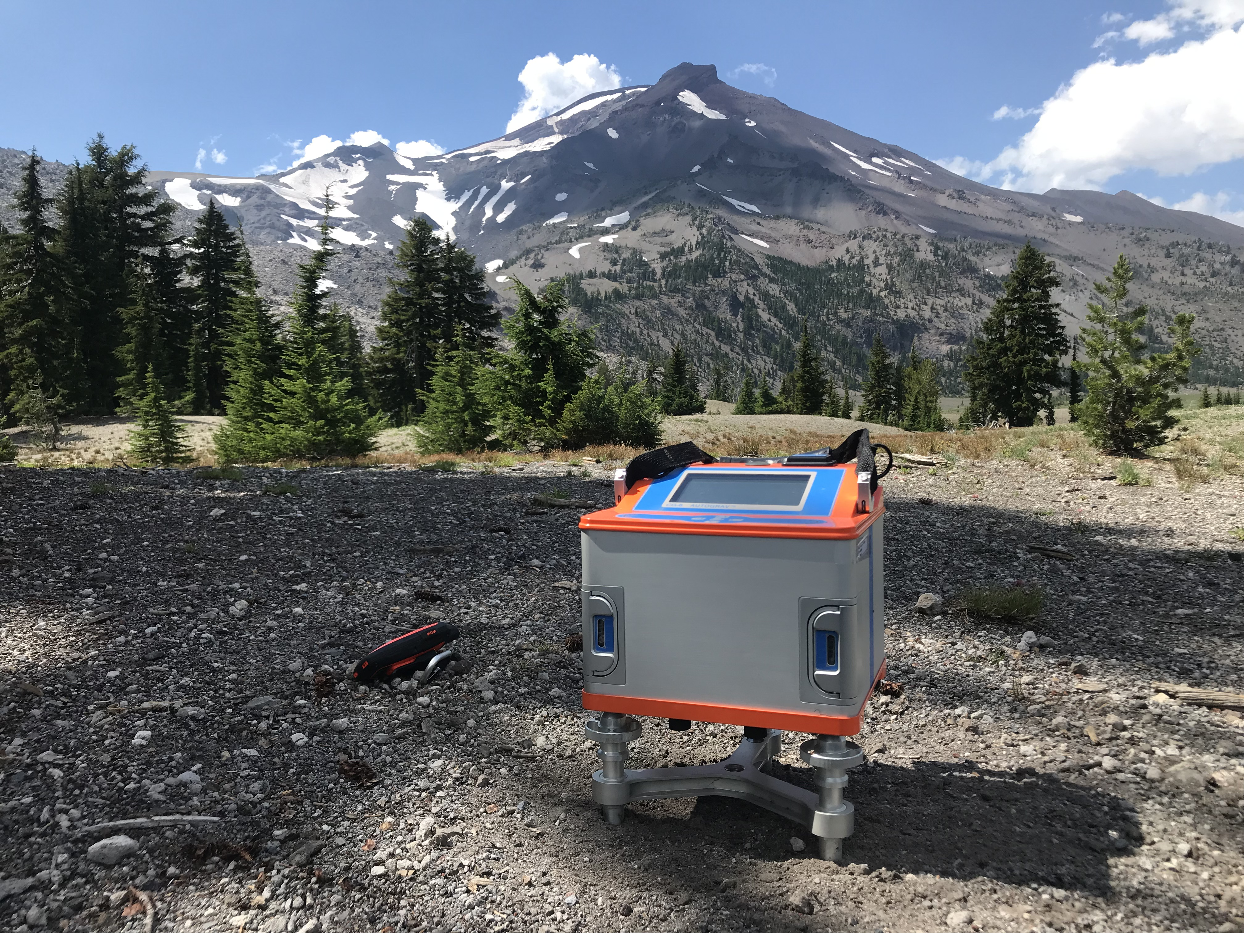 Three Sisters Preliminary Gravimetry Field Work