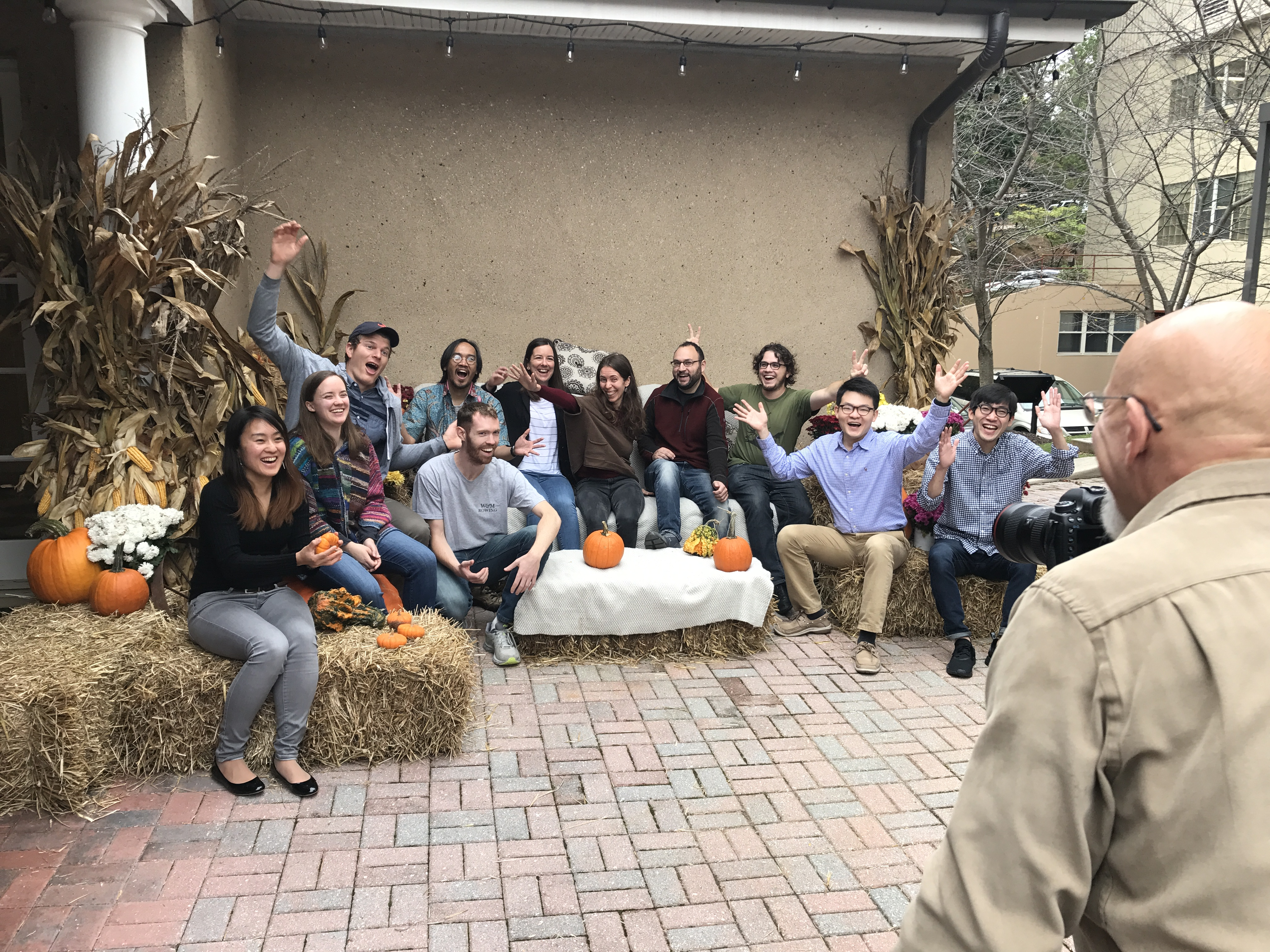 DTM Postdocs had fun taking their 2017 group picture before the BBR Annual Fall Picnic