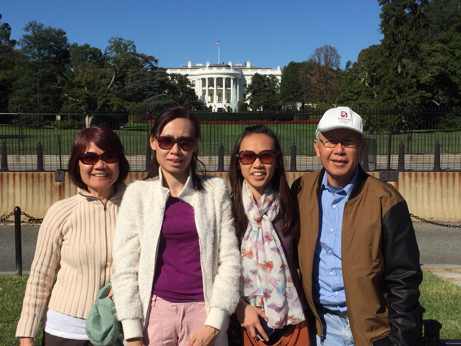 Wan Si Tang and her family