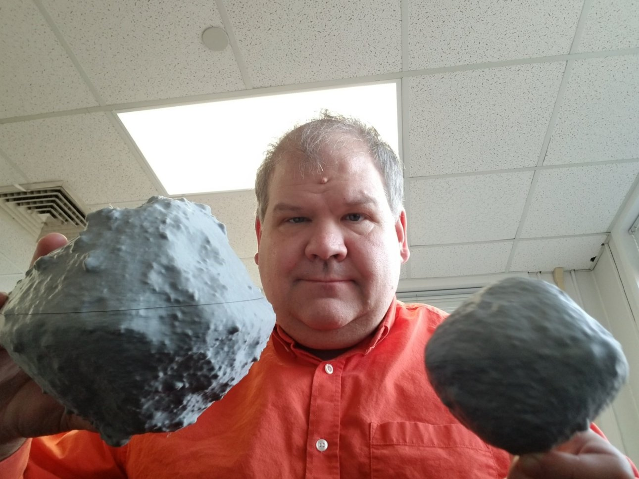 Larry Nittler with ASteroids