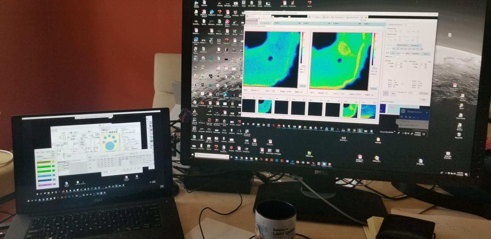 Larry Nittler Collects nonSIMS data from home