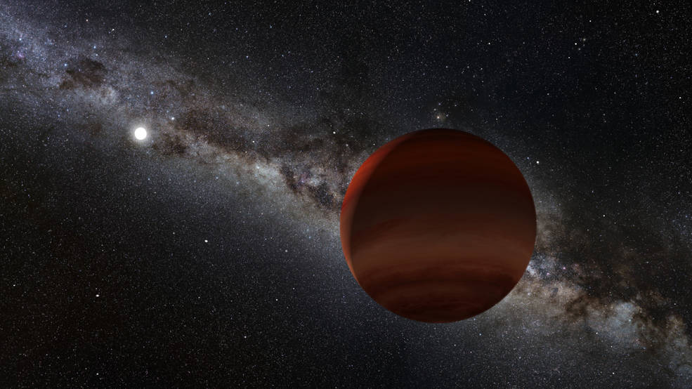 White dwarf and its brown dwarf companion Credits: NOIRLab/NSF/AURA/P. Marenfeld/Acknowledgement: William Pendrill