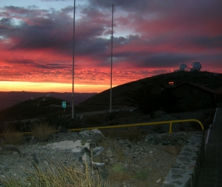 Images from Carnegie's Las Campanas Observatory (Credit: Scott Sheppard, DTM)