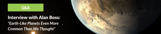 Interview with Alan Boss: Habitable Zone Planets More Common Than We Thought