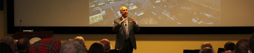 Carnegie President Talks Climate, Energy, Economy at Broad Branch Road