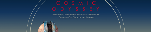 Header for Book Cosmic Odyssey