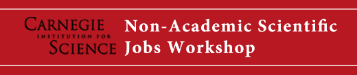 Non-Academic Jobs Workshop