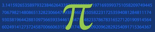Happy Pi Day from Alan Boss and Alycia Weinberger!