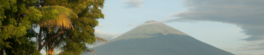 Mount Agung, seen on April 28, 2010 from Bali. Photo by Jesse Wagstaff via CC License.
