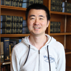 Carnegie Postdoctoral Fellow Lin Wang