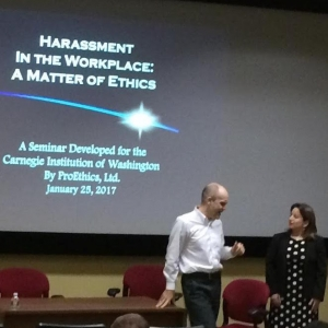 """Harassment in the Workplace: A Matter of Ethics"""
